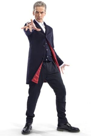 Current Doctor Peter Capaldi.