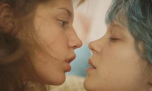 Adele Exarchopoulos and Lea Seydoux in Blue is the Warmest Colour, 2013