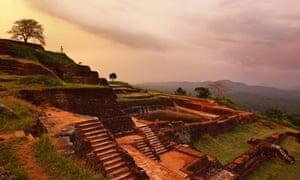 The ancient Sigiriya fortress