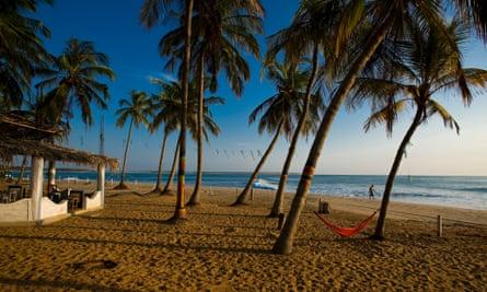 Arugam Bay beach.