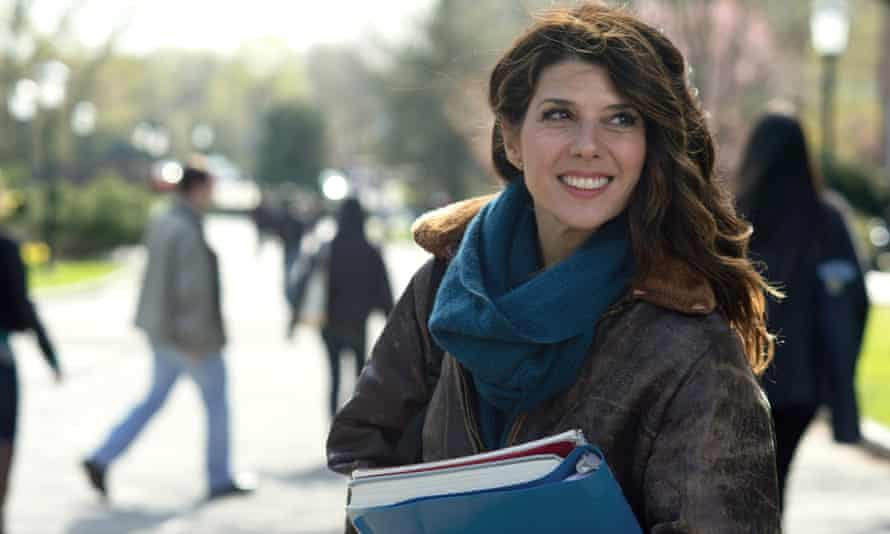 Marisa Tomei in The Rewrite: 'the material is short on  pop and punchline'.