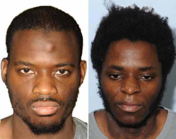 Michael Adebolajo and Michael Adebowale, who were found guilty of the murder of British soldier Lee Rigby