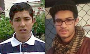 Abdullah Deghayes, 18 and his brother Jaffar Deghayes, 16