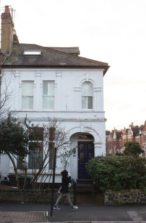 The flat in Crouch End, north London where Linda Grant lived for 20 years.