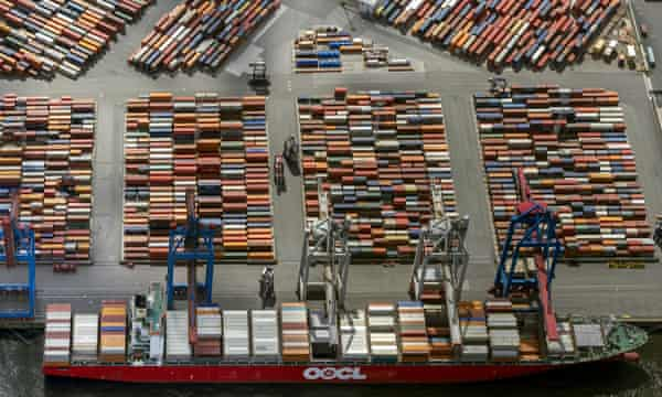 The Eurogate container terminal in Germany, just one of the trade conduits that supporters of TTIP say will see increased traffic if the deal goes ahead.