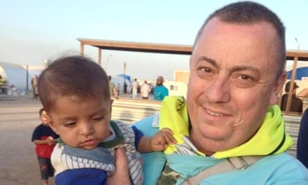 Alan Henning, captured and killed while working with refugees in Syria, in an image released by his family.