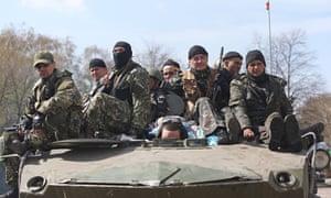 Situation in Slavyansk, Ukraine