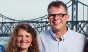 Julia and Kevin Garratt