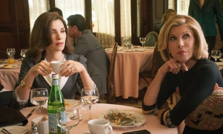 The Good Wife's Alicia Florrick and Diane Lockhart do a power lunch.
