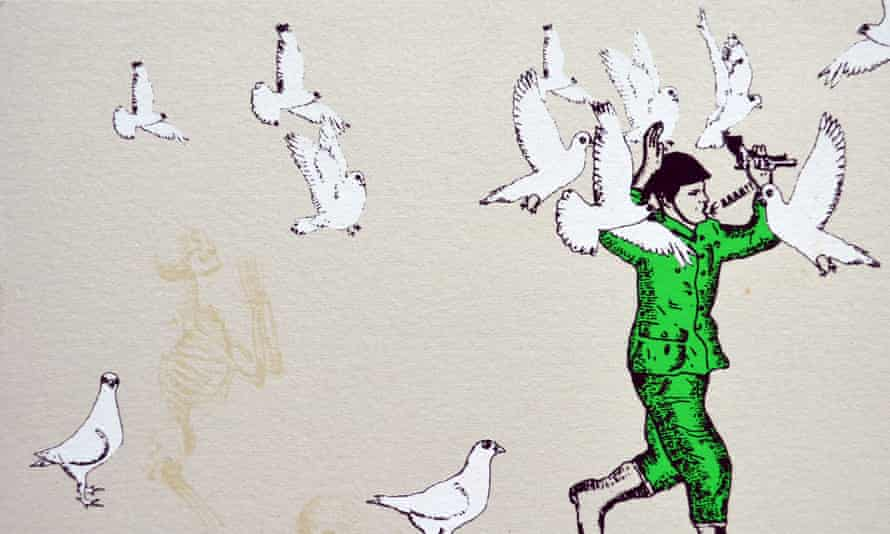 Mexican artists are showcasing their political street art at an exhibition in London