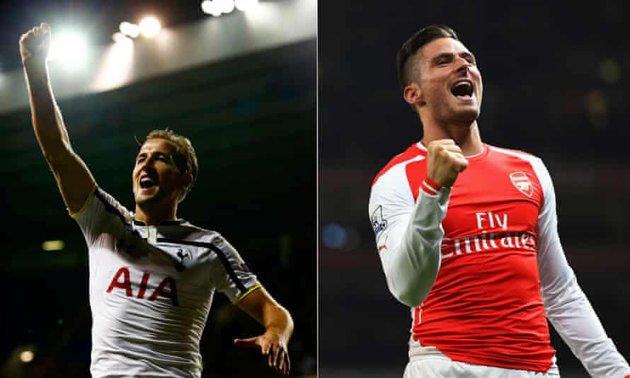 Who makes our Arsenal-Tottenham combined XI: Harry Kane or Oliver Giroud?