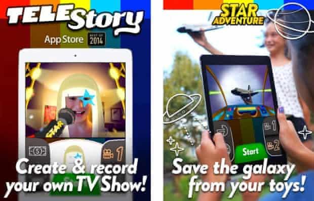 Launchpad Toys' TeleStory app.