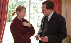 Joanne Froggatt and Eddie Marsan in Still Life