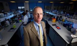 NEWCASTLE, 1st June 2012 - Doug Turnbull, professor of neurology at Newcastle University.