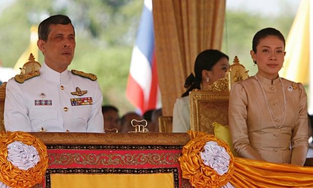 Thailand's Crown Prince Maha Vajiralongkorn and Royal Consort Princess Srirasmi.
