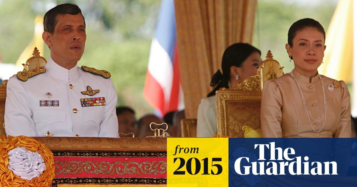 Thai crown prince's poodle, Air Chief Marshal Foo Foo, has