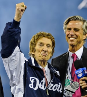 Detroit Tigers owner Mike Illitch, who also owns the Red Wings and the pizza chain Little Caesars.