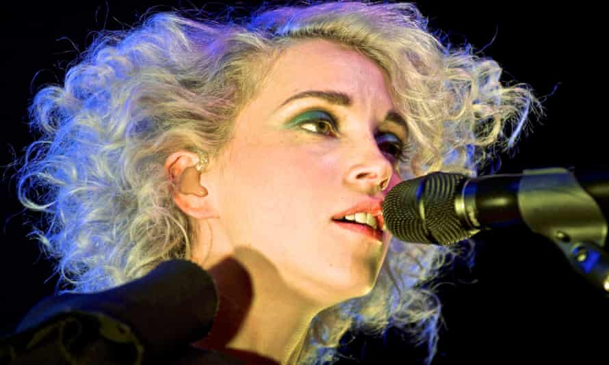 St Vincent's Annie Clarke, performing live in 2014