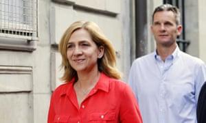 Princess Cristina of Spain and her husband Inaki Urdangarin