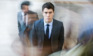Devastating consequences … Toby Kebbell in Black Mirror: The Entire History of You. Photograph: Gile