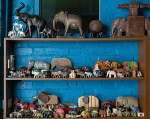 Magnificent Obsessions: The Artist as Collector29. PETER BLAKE. Elephants from the collection of Sir Peter Blake, photo Hugo Glendinning.jpg