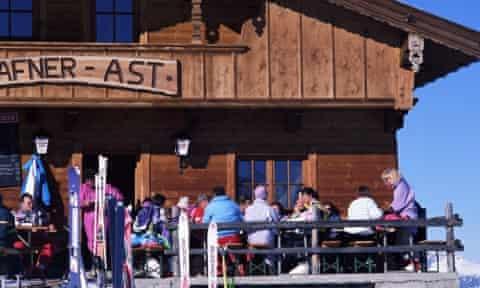 Ski Lodge in Alpbach.