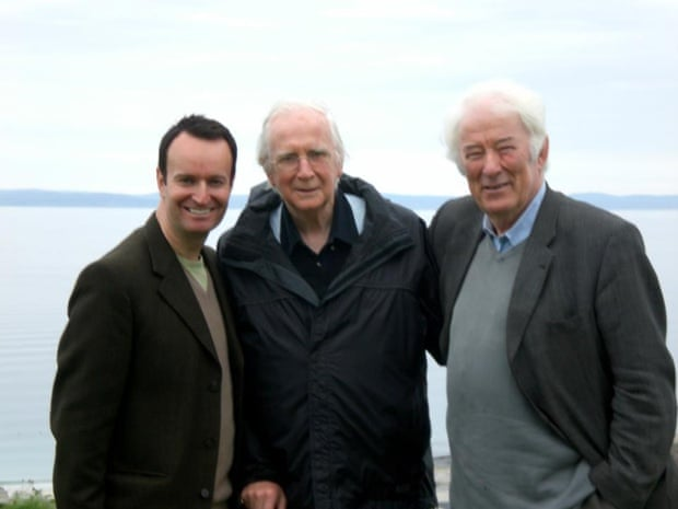 Andrew O'Hagan, Karl Miller and Seamus Heaney.