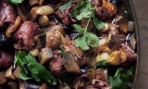Prune, Apricot and Chorizo Stew