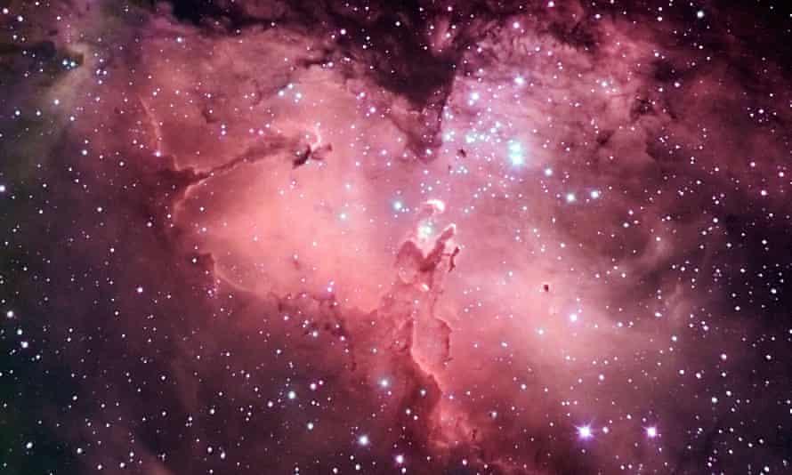 M16 Eagle nebula in Snake Constellation