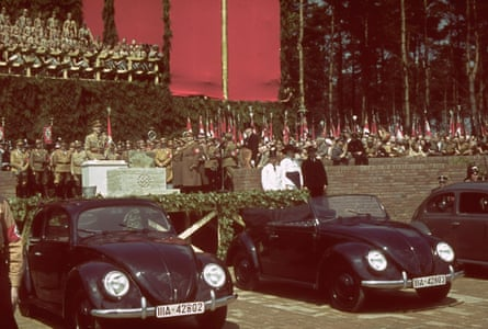 Volkswagen Beetles were originally the Nazi 'Strength Through Joy' car.