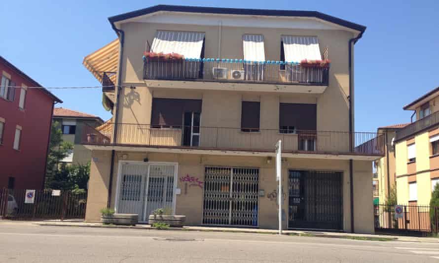 Dino Maglio's first-floor flat in Padua.