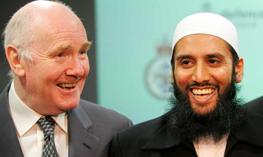 British army Imam Asim Hafiz
