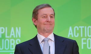 Taoiseach Enda Kenny, who has described Ireland's economic recovery as 'fragile'.