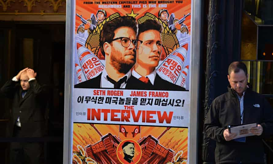 The Interview cinema poster