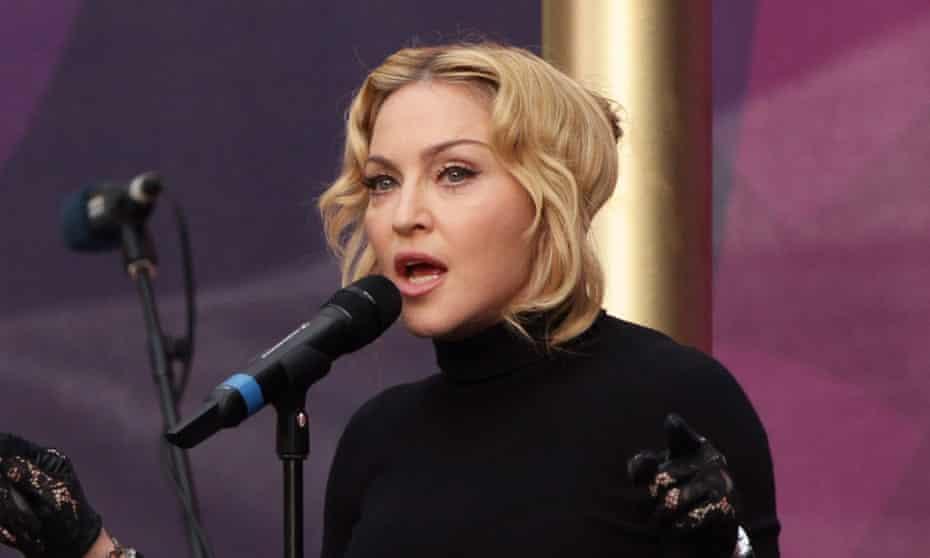 Madonna: on snapchat