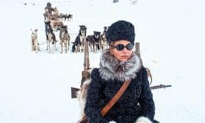 Husky …Juliette Binoche in Nobody Wants the Night.