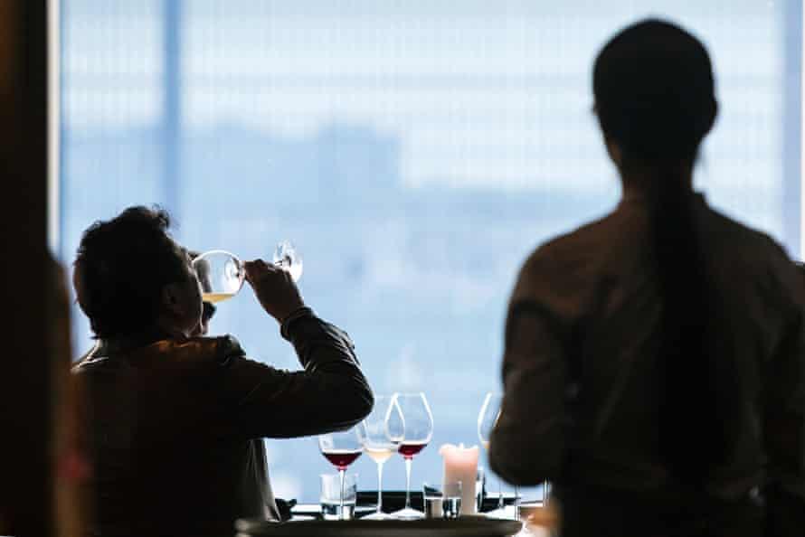 Patrons dine at Noma in Mandarin Oriental, Tokyo.
