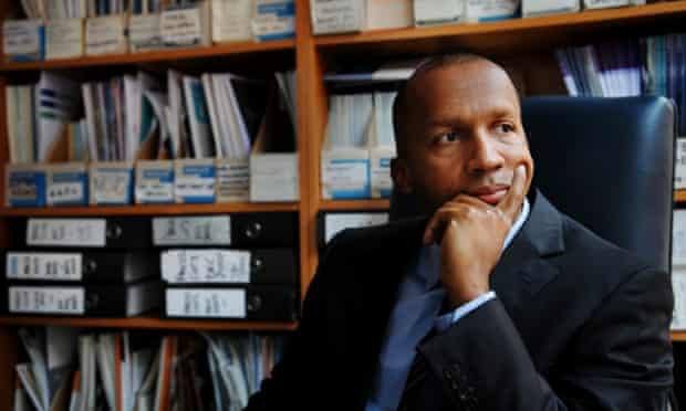 American lawyer Bryan Stevenson, director of the Equal Justice Initiative.