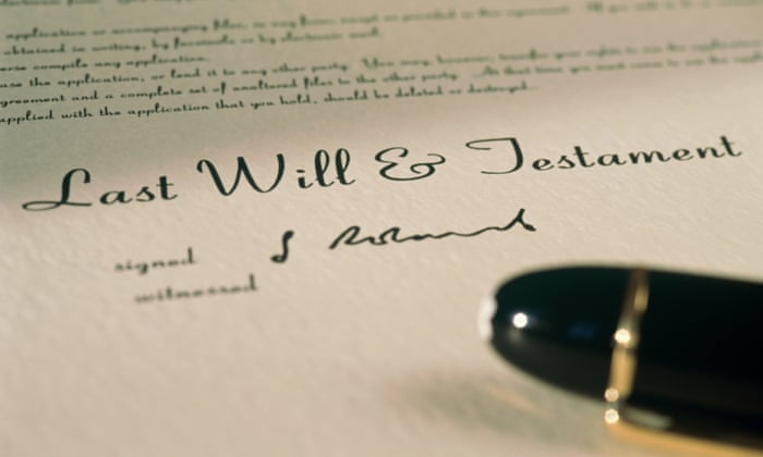 The dangers of diy wills money the guardian solutioingenieria Choice Image