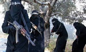 isis female jihadi militants