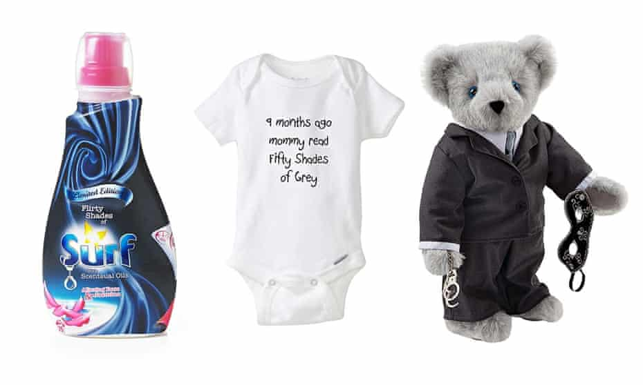 Fifty Shades merchandise.