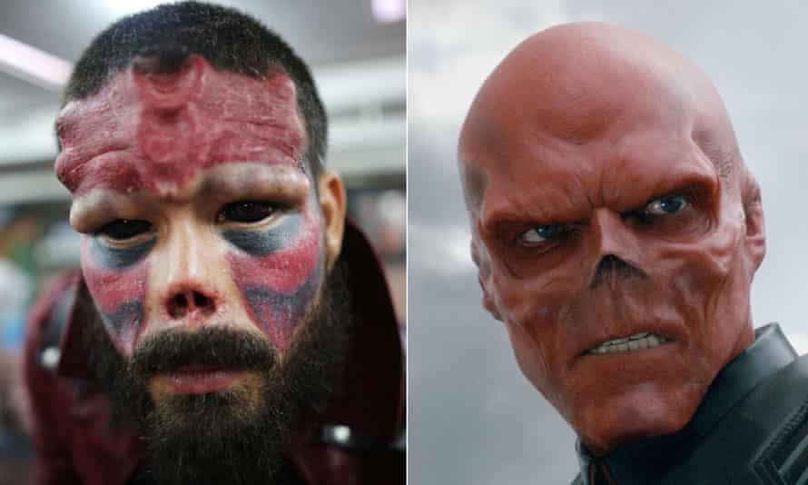 Henry Damon Red Skull