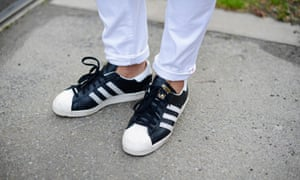 A classic: Adidas Superstars.