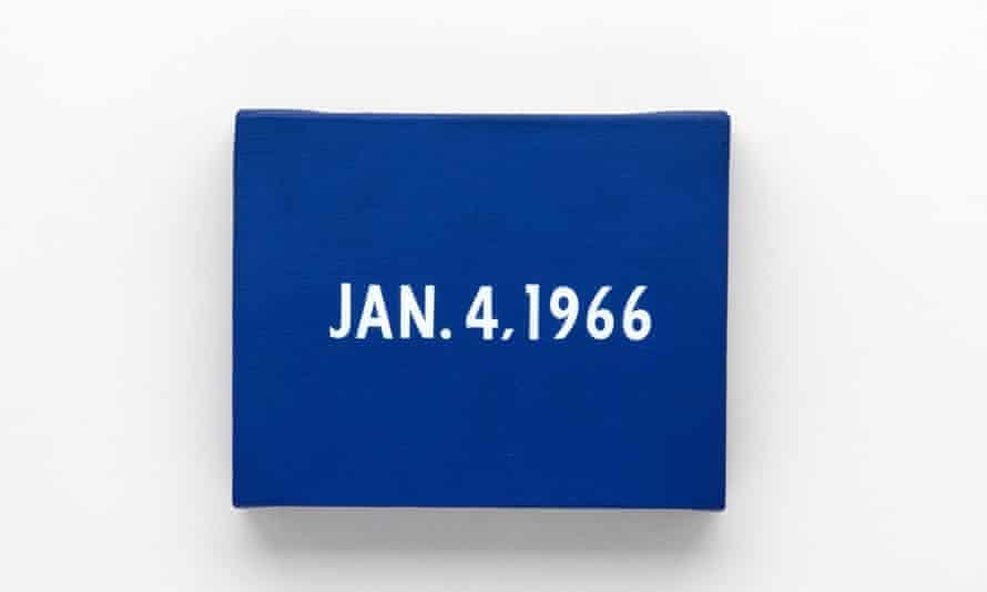 On Kawara: JAN. 4, 1966, New York's traffic strike. From Today, 1966–2013.