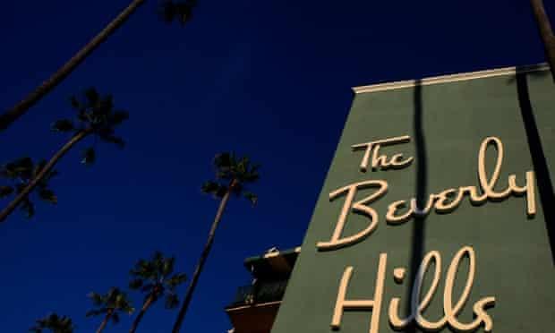 Sunset Boulevard's Beverly Hills hotel