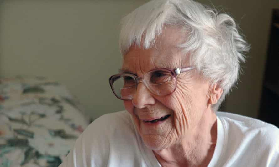Harper Lee at home in Monroeville, Alabama.