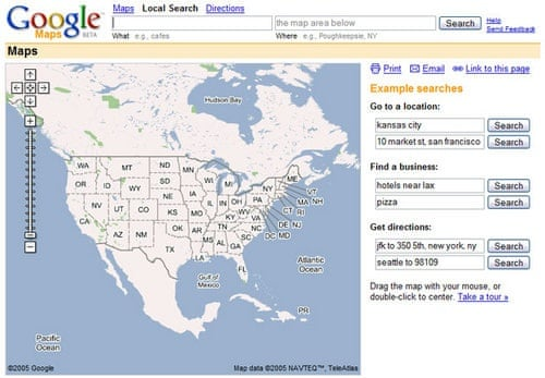 Google Maps: a decade of transforming the mapping landscape ...