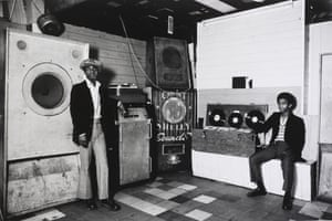 4 Aces Club, Count Shelley Sound System, Hackney, London, 1974