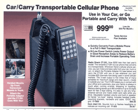 RadioShack 1989