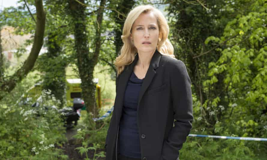 As Stella Gibson in The Fall.